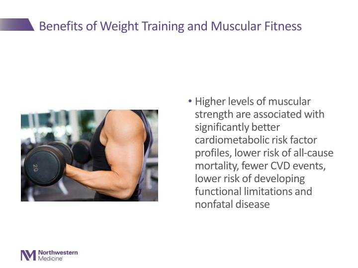 Benefits of Weight Training and Muscular Fitness