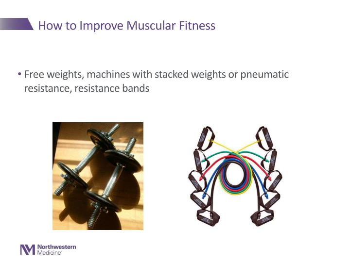 How to Improve Muscular Fitness