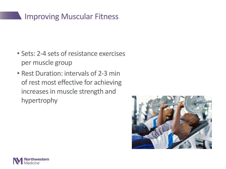 Improving Muscular Fitness