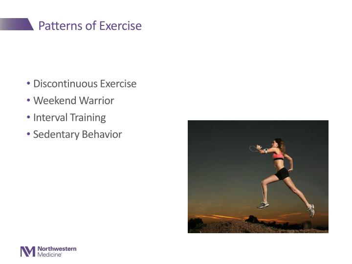 Patterns of Exercise