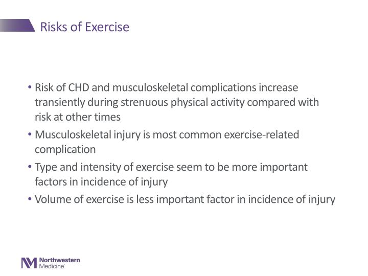 Risks of Exercise