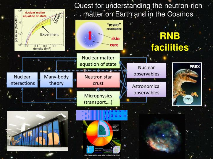 Quest for understanding the neutron-rich matter on Earth and in the Cosmos