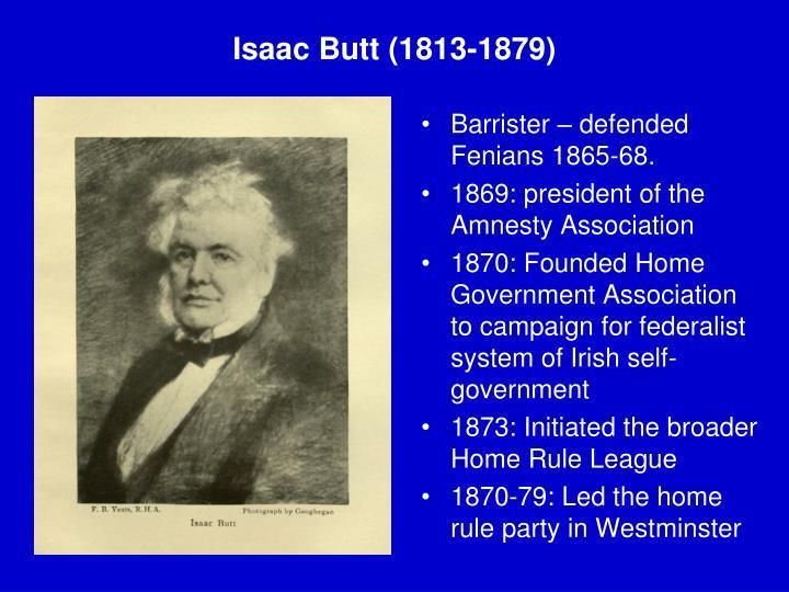Isaac Butt (1813-1879)