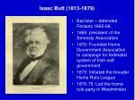 isaac butt 1813 1879
