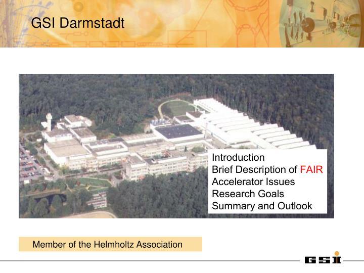 GSI Darmstadt