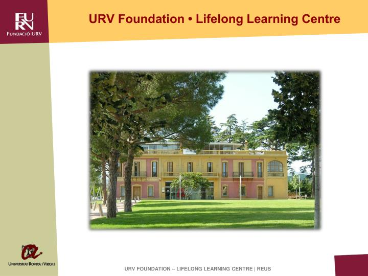 Urv foundation lifelong learning centre