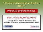 the next accreditation system nas