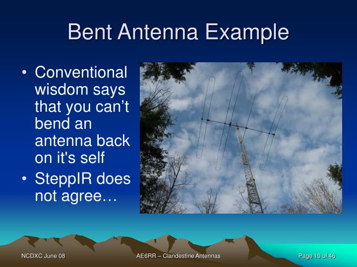 Bent Antenna Example
