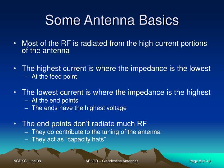 Some Antenna Basics