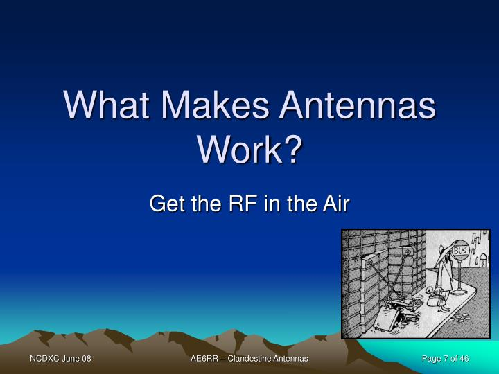 What Makes Antennas Work?