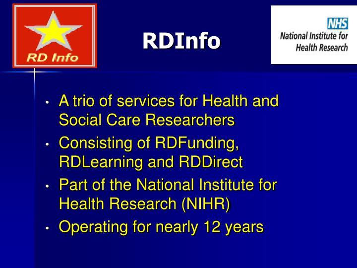 RDInfo