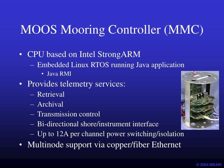 MOOS Mooring Controller (MMC)