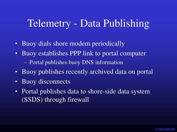 Telemetry - Data Publishing