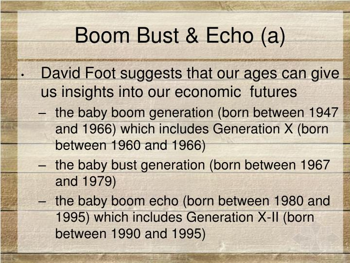 Boom Bust & Echo (a)