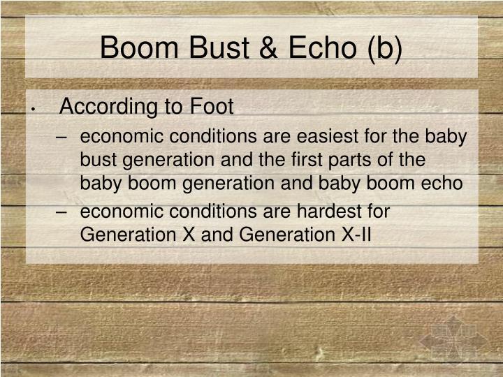 Boom Bust & Echo (b)