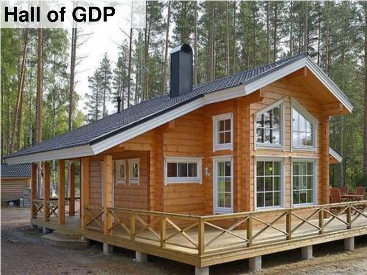Hall of GDP
