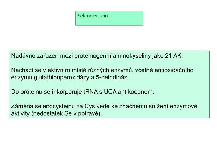 Selenocystein