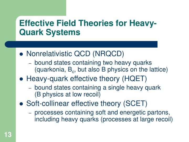 Effective Field Theories for Heavy-Quark Systems