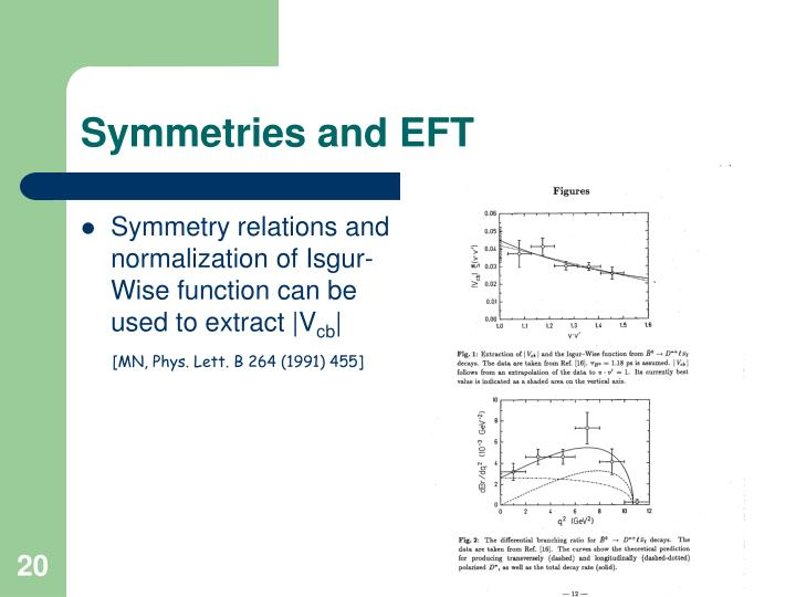 Symmetry relations and normalization of Isgur-Wise function can be used to extract |V