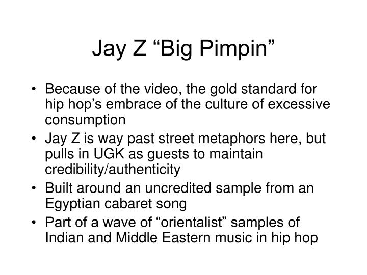 "Jay Z ""Big Pimpin"""