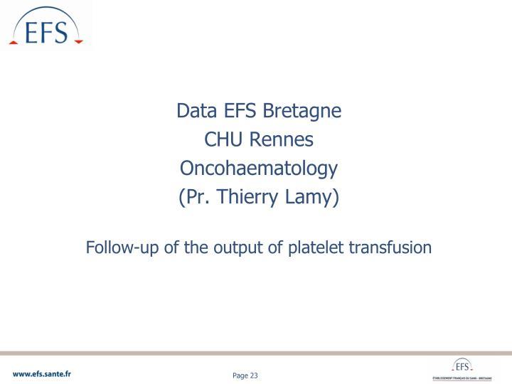 Data EFS Bretagne