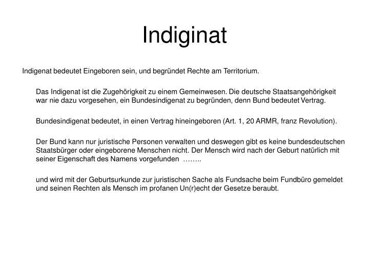 Indiginat
