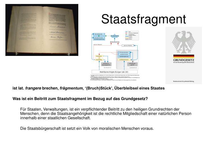 Staatsfragment