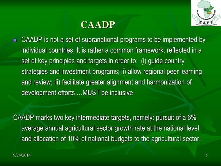 CAADP