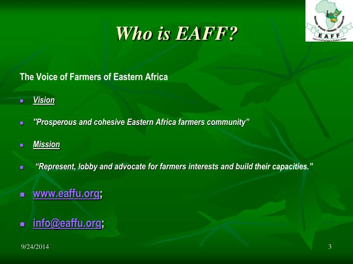 Who is eaff