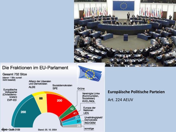 Europäische Politische Parteien