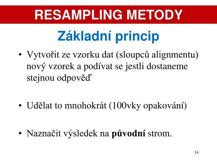 RESAMPLING METODY