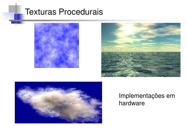 Texturas Procedurais