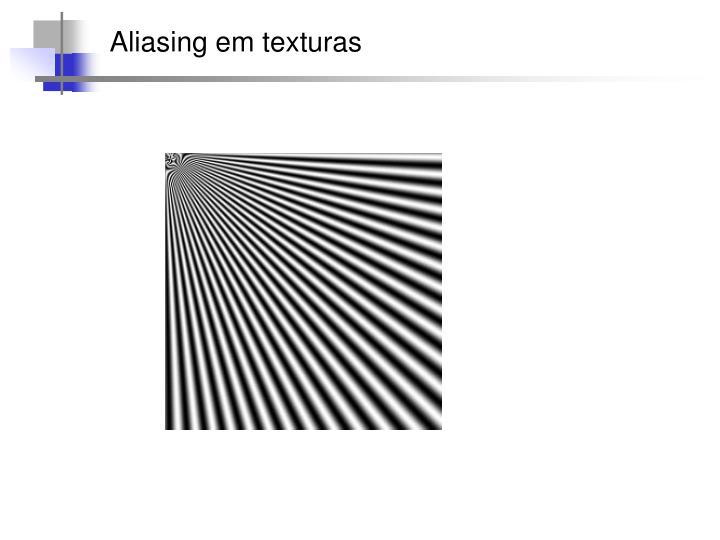 Aliasing em texturas