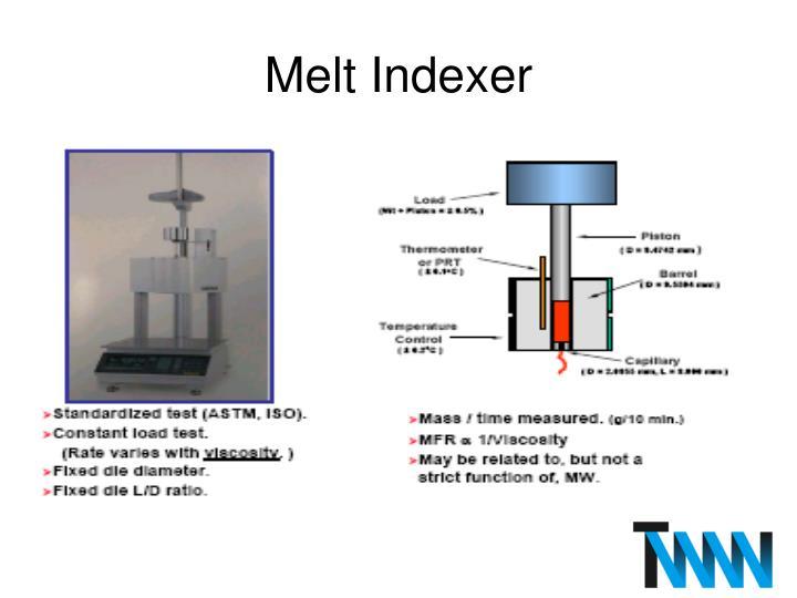 Melt Indexer