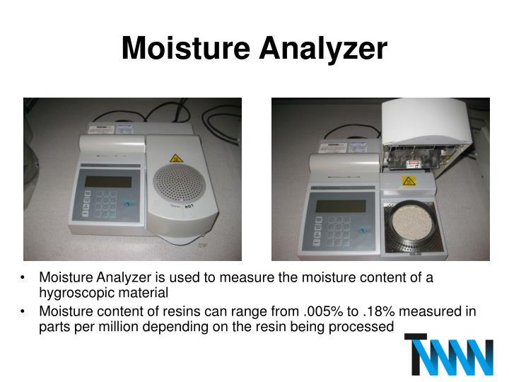 Moisture Analyzer