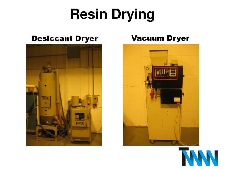 Resin Drying
