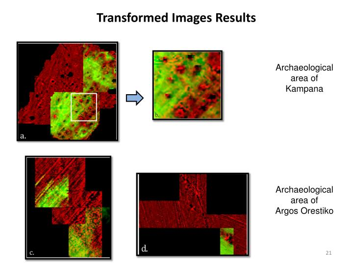Transformed Images Results