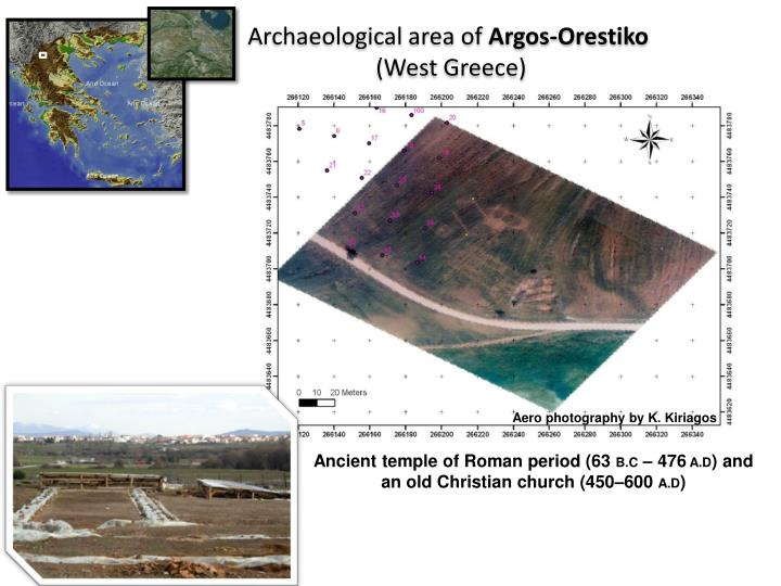 Archaeological area of