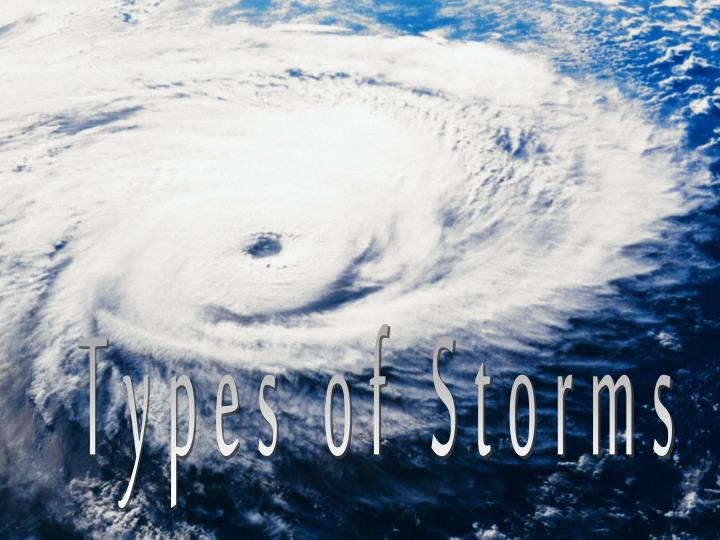 Types of Storms