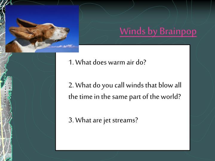 Winds by Brainpop