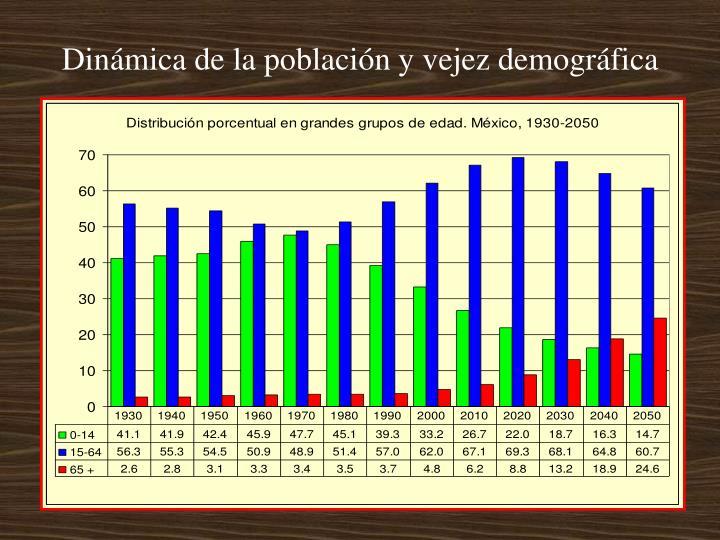 Dinámica de la población y vejez demográfica