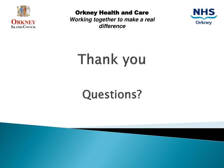 Orkney Health and Care