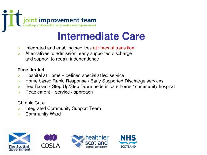 Intermediate Care
