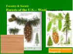 forestry society forests of the u s west coombes 1992
