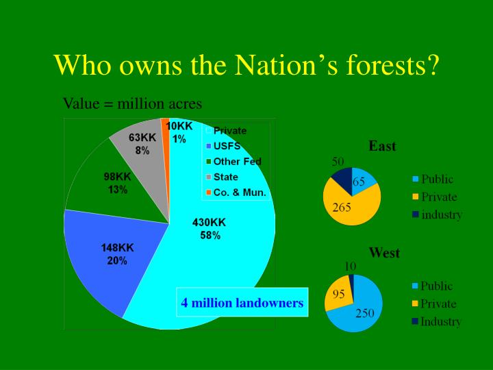 Who owns the Nation's forests?