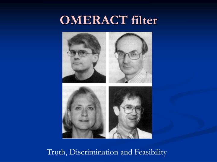 OMERACT filter