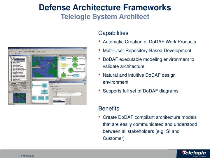 Defense Architecture Frameworks