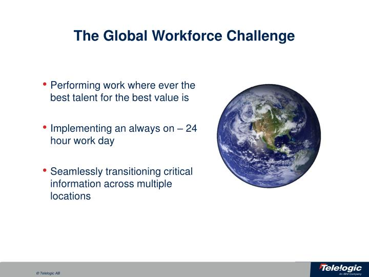 The Global Workforce Challenge