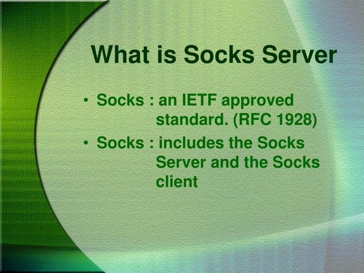 What is socks server
