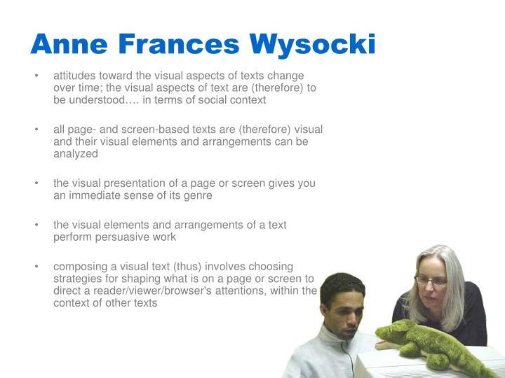 Anne Frances Wysocki